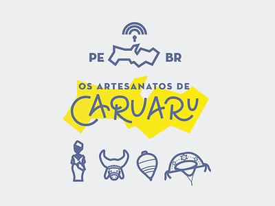 Pe Icons brand flat web app ui character logo design icon branding pernambuco brazil mikoko illustration vector