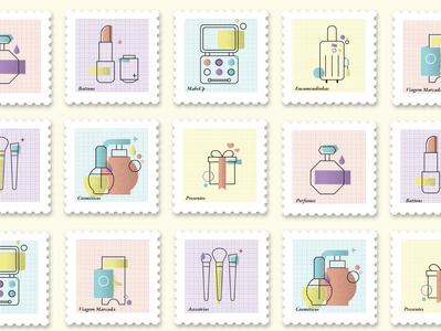 Nalu postage stamps