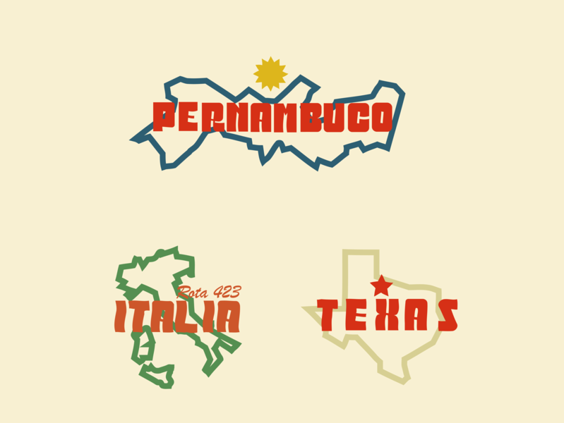 Rota 97 Burger typography design brand map icon maps font design typographic design type logo icon branding brazil drawing illustration mikoko vector