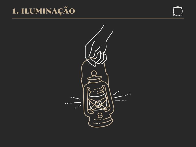 Ilumination brand icon drawing mikoko illustration vector