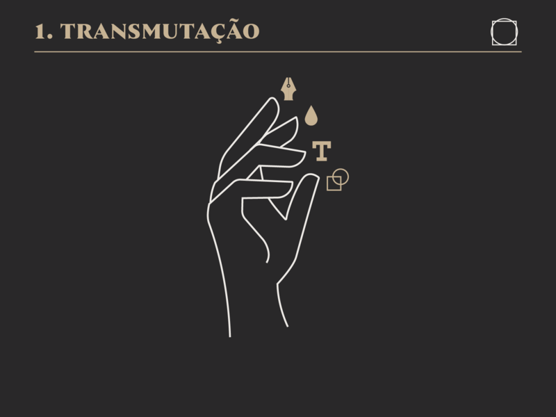 Transmutation design logo icon drawing branding illustration mikoko vector