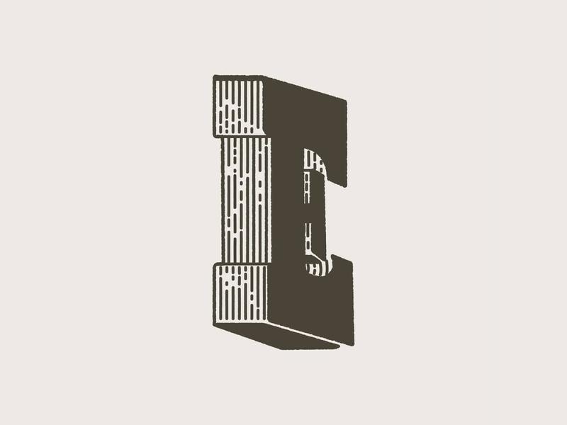 WoodE woodtype type letterpress letter typography