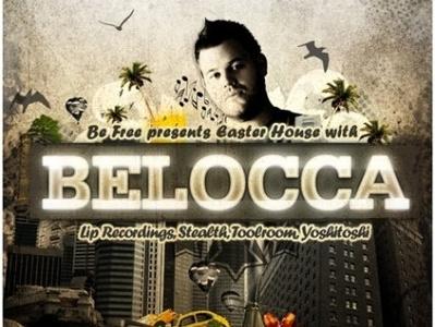 Belocca at Stereo, Rijeka flyer flyer design typography dtp poster design