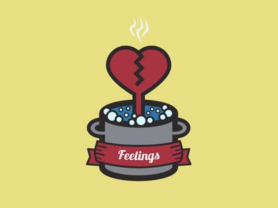 Lobster Feelings icon logo graphic lobster fish feelings emotion heart pot