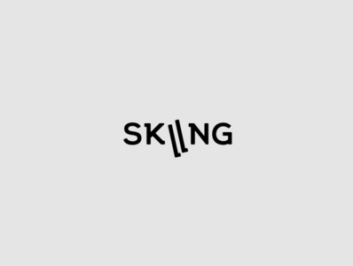 Logotype 02 | Skiing