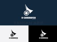 Unique Flat E commerce Logo By Tahsan Arif