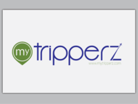 Modern logo design for trip business