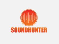 Brand logo design soundhunter
