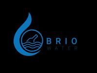 Water bottle company logo