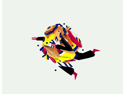 Abstract illustrations vector ilustrator flat illustrator