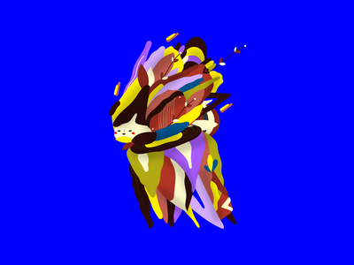 Concept Character uiux abstraction abstract flora flower illustration