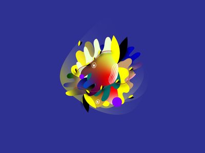 Concept Character :) ui web abstraction flat ux minimal icon logo flora flower branding ilustrator illustration abstract