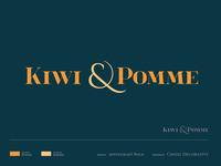 [branding] Kiwi&Pomme