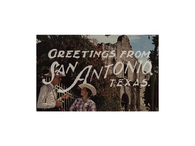 Greetings From San Antonio