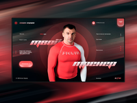 Personal fitness trainer website