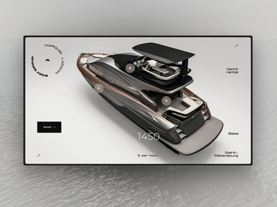 Yacht rental concept 1