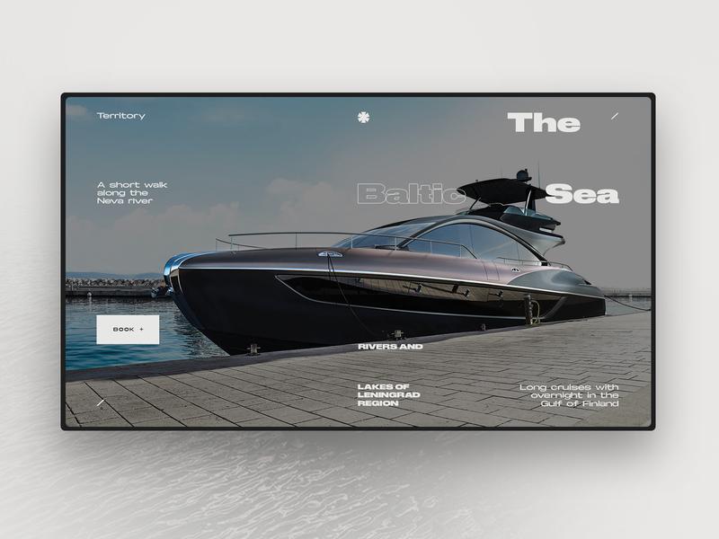 Yacht rental concept 2 ui. web desgin interface ux uiux one page uidesign interface design ui elements landing page design web webdesign ui  ux web design ui