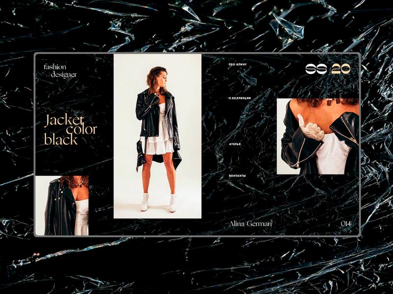 Alina German SS 20 / Jacket color black 014 interface design ui elements landing page web design webdesign ui  ux web design ui fashion brand fashion design fashion