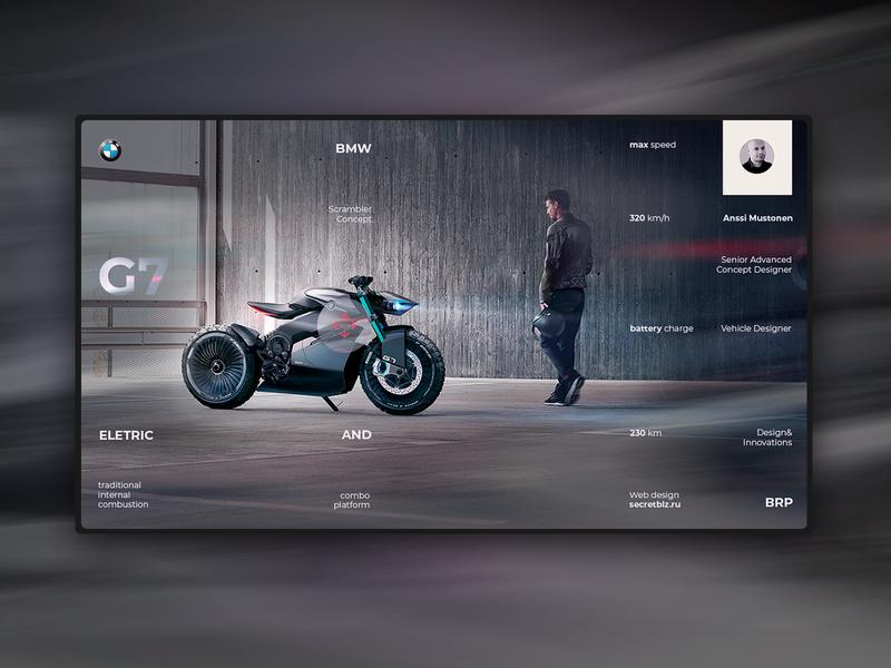 bmw g7  home page concept uidesign interface design landing page ui elements web design webdesign ui  ux web design ui