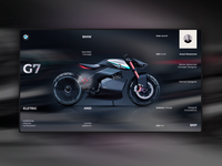 bmw g7 home page concept ver. 2.0