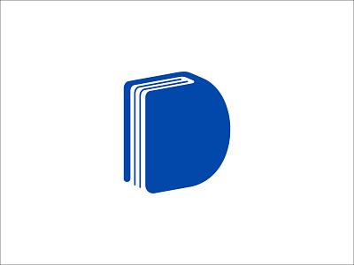 Letter D And Book Logo Design simple logo learning logo logo for sale unique logo creative logo letter mark logo initials logo letter d logo education logo book logo book letter d modern logo monoline logo minimalist logo pictorial mark unique design sophisticated logo branding logo design