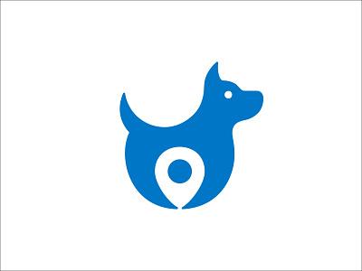 Dog Location Logo Design unique logo creative logo pet shop gps logo logo for sale pet app location logo dog logo pet logo pet care logo sophisticated logo pictorialmark modern logo minimalist logo simple logo pictorial mark unique design logo branding logo design