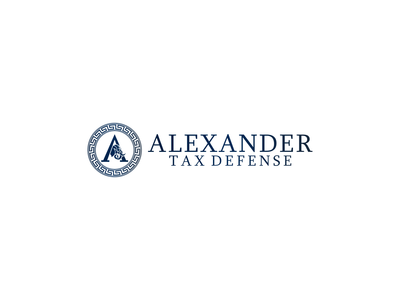 Alexander Tax Defense  My Old Project