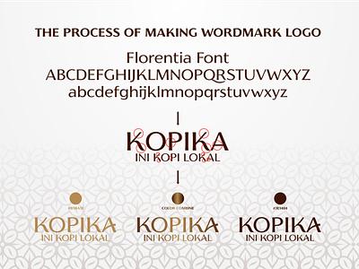 PROCESS MAKE WORDMARK LOGO coffeebrand luxurylogo sophisticated logo simplelogo logo branding logo design unique design lettering art lettering logo letter letters lettermark lettering typography art typography typedesign type typeface wordmark