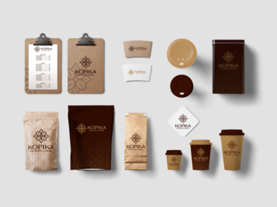 Example packaging brand kopika