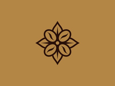 Coffee Flower Logo Designs
