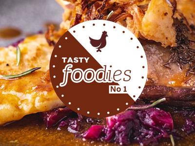 Daily Shot 2 ( Tasy Foodies No 1) minimalist minimal lovely illustration icon happy flat design branding banner