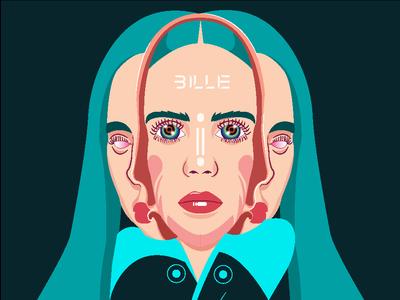 Billie 03 - inspired from Takashi Murakami