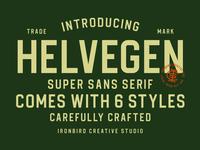 Helvegen Super Sans