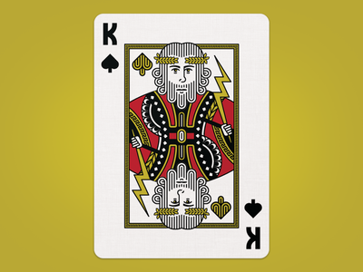 Zeus Playing Card