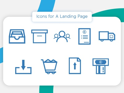 Icons for a Landing Page