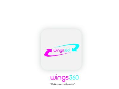 logo wings360