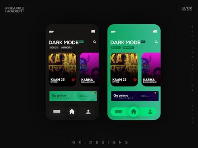 Dark Mode   app ui