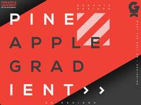 Pinapple gradient | Typography