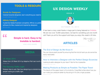 UX Design Weekly Email Newsletter