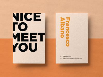 Business Card print design branding business card design