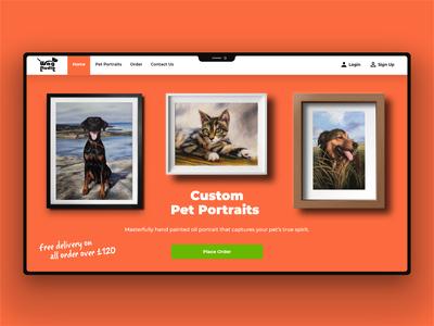 Web Design typography website design web design website banner design banner ui design ui design