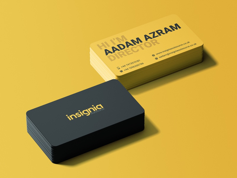 Business Card print vector branding business card