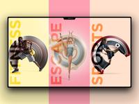 Demetriousports Eshop Website UI