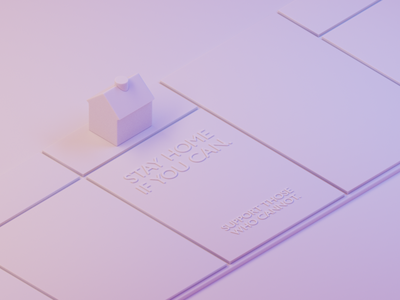 Bored Games: Model Detail self isolation isolation fun boardgame covid-19 covid19 covid coronavirus clay game night game monopoly home stay home clay render lighting isometric modeling illustration blender
