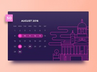 Day #50 - Calendar