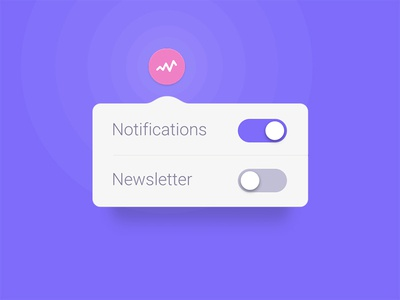 Day #63 - Dropdown helsinki app notification settings dropdown ui dailyui