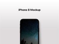 Iphone 8 mockup presentation px8