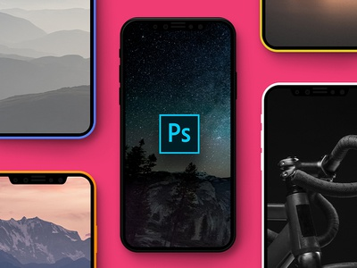 Day #91 - iPhone X Mockup PSD Freebie iphonex daily ui photoshop phone mockup psd iphone iphone8 freebie