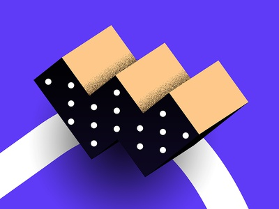 Day #98 - Letter W px8 finland inspiration illustration blue helsinki dailyui typography w 36daysoftype letter