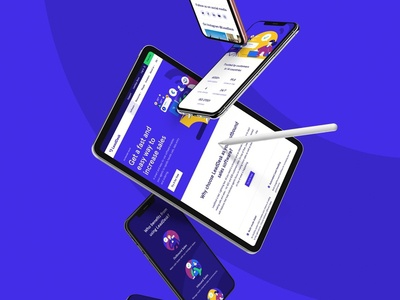 LeadDesk Website UI